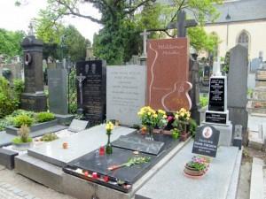 Návštěva hřbitova na Vyšehradě