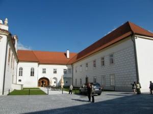 Nově opravený zámek v Hrádku u Sušice