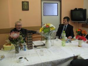 Otec Karel a starosta Horažďovic K.Zrubek