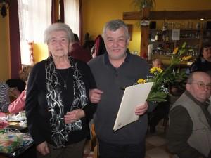 Blahopřání paní Hanzlíkové