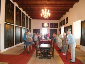Galerie v zámku