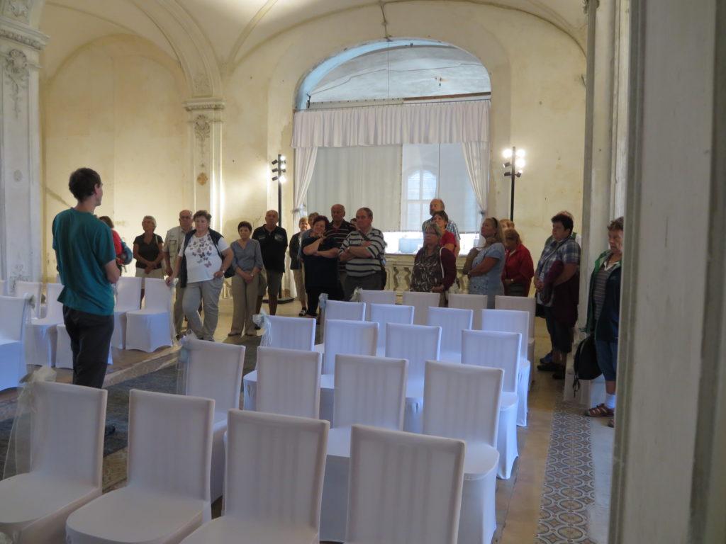 Obřadní síň v klášteře v Chotěšově