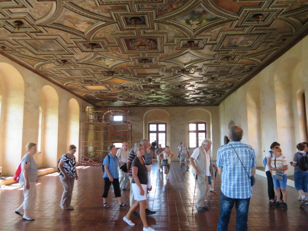 Taneční sál na vodním hradě Švihov
